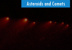 where did asteroids come from - photo #13